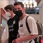 Llegó Messi y la Selección ya está completa en Venezuela
