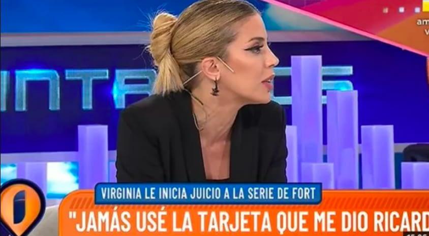 Virginia Gallardo explicó por qué no quiere aparecer en la serie de Ricardo Fort 0