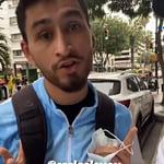 Santi Maratea pidió seguidores para un atleta correntino que no tiene zapatillas